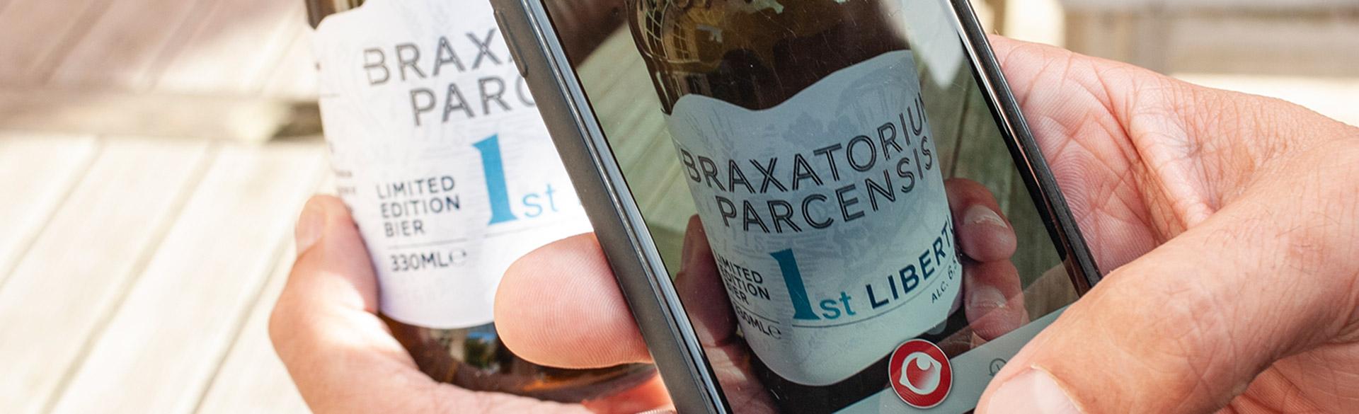 breng je (bier)etiket tot leven met Snappress!
