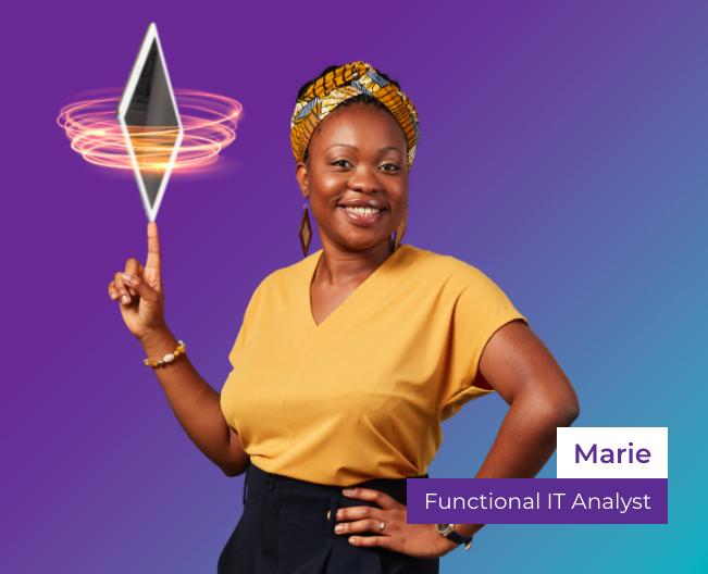 Proximus IT analist Marie